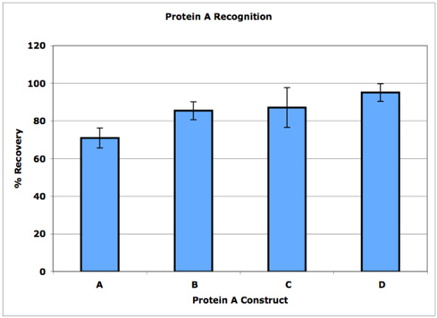 Protein A ELISA kit specificity_chart_1