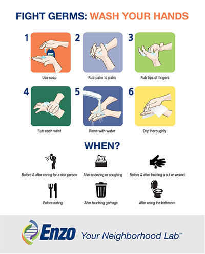 Download our Wash Your Hands Poster