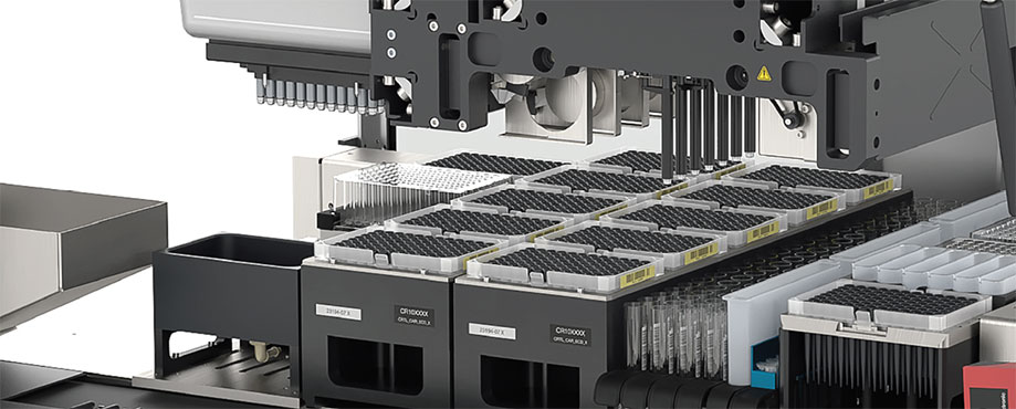 Automated nucleic acid extraction and PCR setup